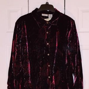 Women's plus size holiday top